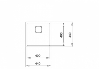 Кухонная мойка ТЕКА FLEXLINEA RS15 40.40 SQ