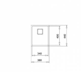 Кухонная мойка ТЕКА FLEXLINEA RS15 34.40 SQ