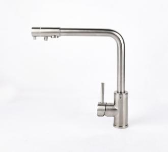 Смеситель для кухни Nordline STONE с краном для фильтра на изливе