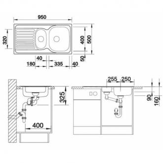 Кухонная мойка Blanco TIPO 6 S
