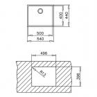 Кухонная мойка ТЕКА BE LINEA RS15 50.40