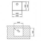 Кухонная мойка ТЕКА BE LINEA RS15 45.40