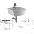 Умывальник Ideal Standard Cantica 45x45