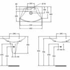 Умывальник Ideal Standard Motion 65x44