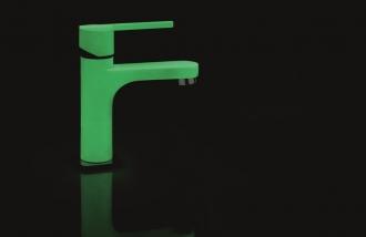 Смеситель для умывальника Teka Aura Moonlight зеленый